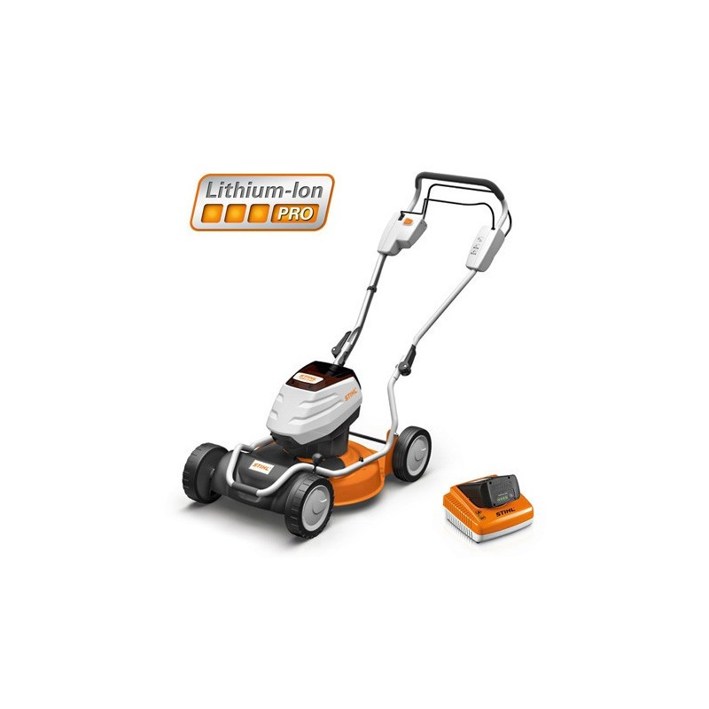 tondeuse gazon batterie rma 2 rt pack complet stihl. Black Bedroom Furniture Sets. Home Design Ideas