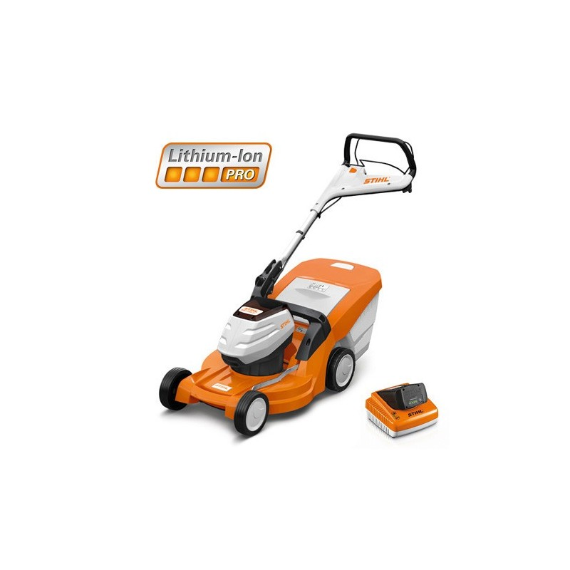 tondeuse gazon batterie rma 448 tc pack complet stihl collard fils sa. Black Bedroom Furniture Sets. Home Design Ideas