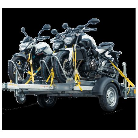 Remorque porte-motos HM 752113