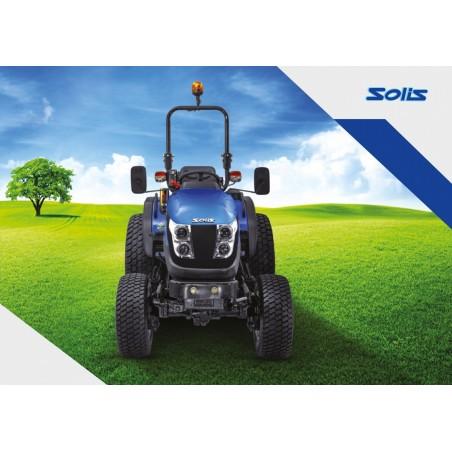 Microtracteur diesel SOLIS 26