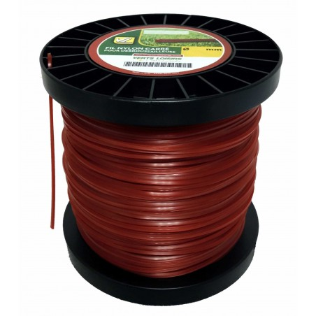 FIL NYLON 3MM CARRE 174M