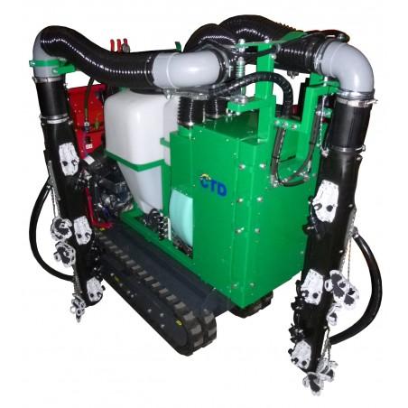 Pulvérisateur AIGLE 2 types de diffuseurs : AIRMIST (diffuseur court) et AIR DRIVE (diffuseur tout hauteur)