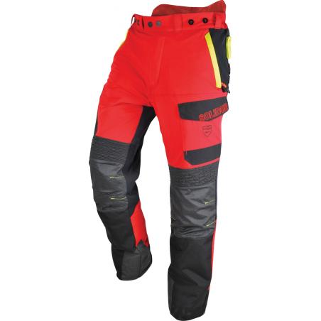 Pantalon Infinity Classe 1 Type A Coloris rouge et jaune